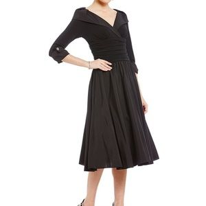 Jessica Howard Portrait Collar Party Dress